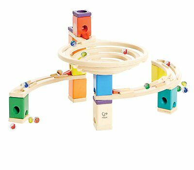 Hape - Quadrilla - Round About Wooden Marble Run