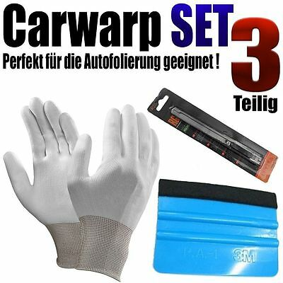 Car Wrap Set zur Auto Vollfolierung - Rakel Set - Auto Folien