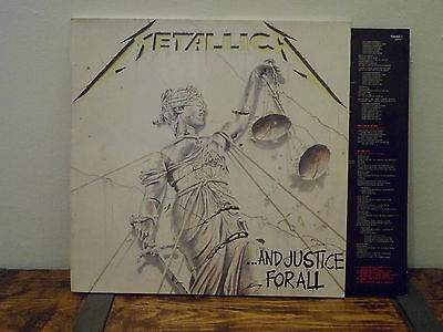Metallica And Justice For All 2Lp Metal Vinyl Lot