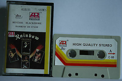 Rainbow  On Stage  Kassette Cassette Ritchie Blackmore PHOTOS
