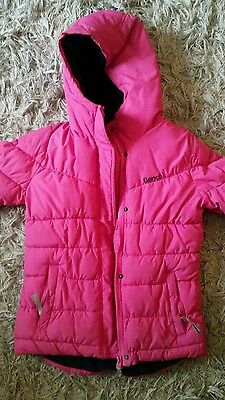 pink bench coat, aged 9/10 years.