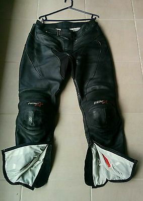 Mens RST Leather Motorcycle Pants
