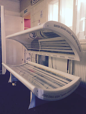 20T 100watt philips double white sunbed 100 watt for delivery £ tel 01740 655557