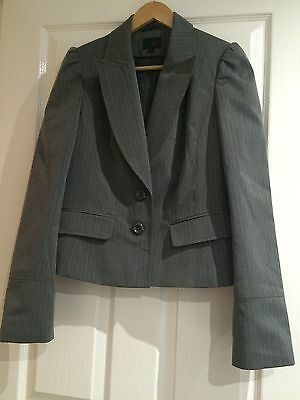 Next  Ladies Suit Jacket -Dark Grey Size 14 - New With Out Tags