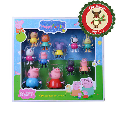 New Peppa Pig Friends Action Figures Peppa Friends Toys Gift Set With Box UK