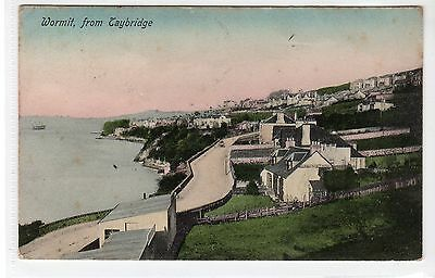 WORMIT FROM TAY BRIDGE: Fife postcard (C21689)