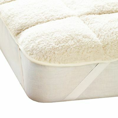 Luxury Teddy Mattress Topper Enhancer, Single Double King Super King Sizes