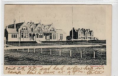 GOLF HOUSE AND HOTEL, TROON: Ayrshire postcard (C21619)