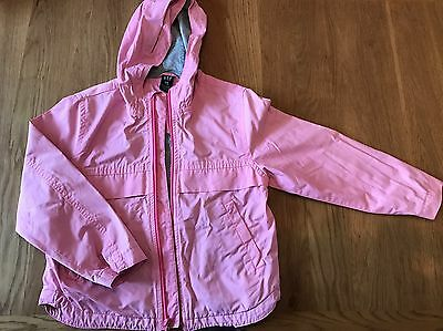 Gap Kids Girl 7-8 Years Pink Jacket Coat • EUR 21,82