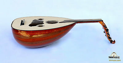 Turkish Quality Mahogany And Walnut String Instrument Zenne Women Oud Ud Azo-104