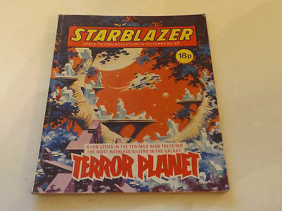 Starblazer Picture Library,no 88,1983 Issue,good For Age,very Rare Sci-Fi Comic.