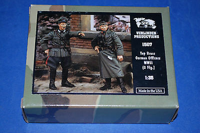 Verlinden Productions 1507 - Top Brass German Officers WWII  scala 1/35