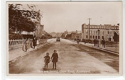 BARR AND STROUD, CROW ROAD, ANNIESLAND: Glasgow postcard (C22096)