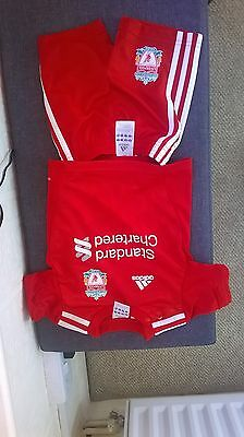 6-9 months liverpool kit (shorts and top)