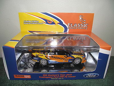 1/43 Classic Carlectables Will Davison Personally Signed 2012