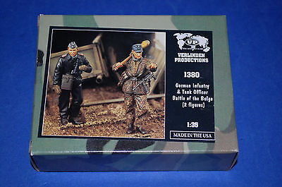 Verlinden Productions 1380 - German Infantry & Tank Officer  scala 1/35