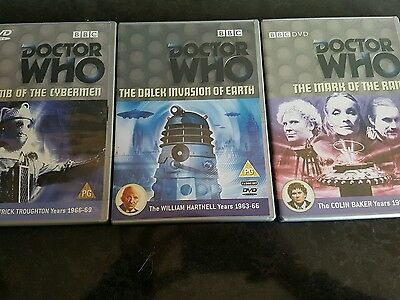 dr who dvd