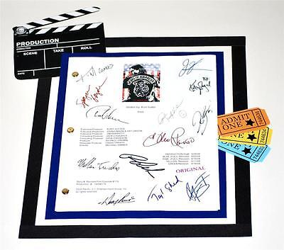 Sons Of Anarchy Script Signed Reprint Charlie Hunnam  Tommy Flanagan