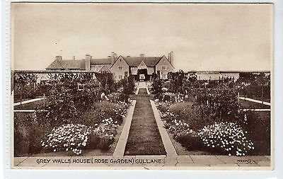 ROSE GARDEN, GREY WALLS HOUSE, GULLANE: East Lothian postcard (C21839)