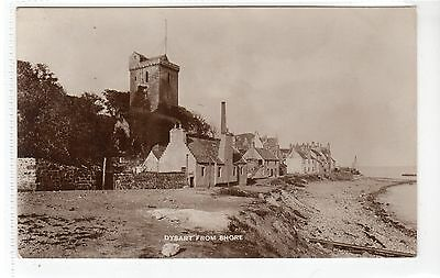 DYSART FROM SHORE: Fife postcard (C21902)