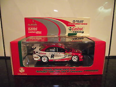 1/43 Classic Carlectables Castrol Perkins Bathurst 1000 2004 Personally Signed