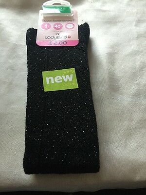 Girls Ladybird Ex Woolworths Stock Over Knee Socks Size  9-12 Age 4-7 Years Bnwt