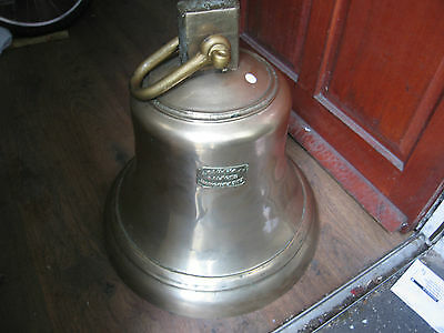 Large Heavy Antique Victorian Turret Clock Spare Bell Brass or Bronze