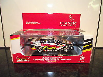 1/43 Classic Carlectables Russell Ingall 2010