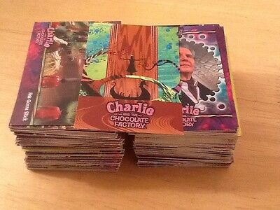 ARTBOX CHARLIE AND THE CHOCOLATE FACTORY 196 Card Job Lot Trading Cards Dahl