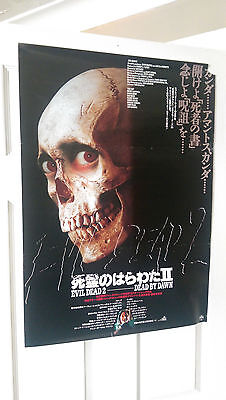 5 Rare Horror Posters , Friday 13th, Evil Dead 2, Faces of Death, The Burning