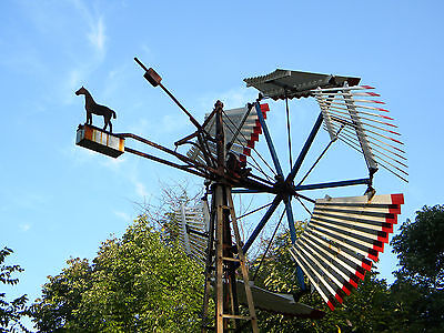 10ft Dempster #4 Windmill w/ 15ft tower, Possible Delivery