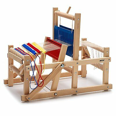 Micki Weaving Loom Children Traditional Craft For Mat Table Runners, Doll House