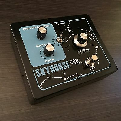 Midnight Amplification Devices - Skyhorse Reverb Guitar Pedal.