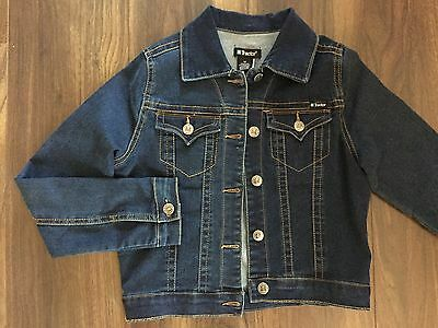 Girls Denim Jacket from Tractor Jeans NYC. Age 10. Good condition