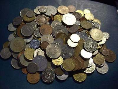 One Pound -1 lbs World Foreign Mixed Loose Coins