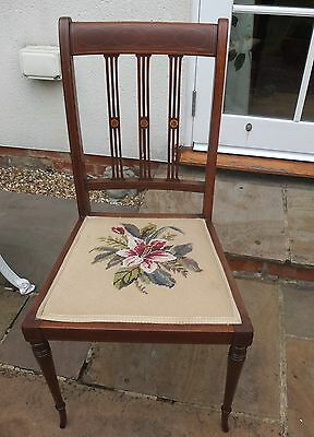 Tapestry bedroom or occassional chair