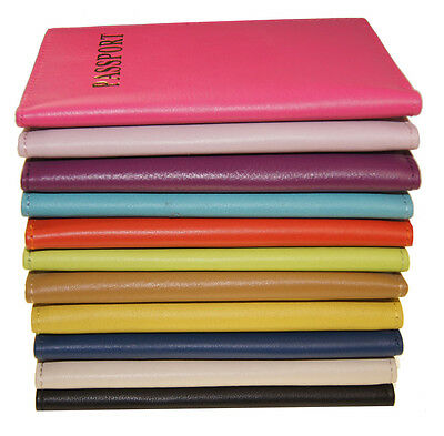 Travel Leather Passport Organizer Holder Card Case Protector Cover Wallet New