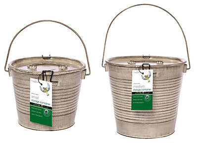 Storage Garden Containers ChapelWood  3L or 5L Carry handle Rustic Design
