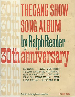 The Gang Show Song Album by Ralph Reader from the 30th Anniversary Show in 1962