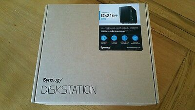 Synology Diskstation DS216+ (4TB Storage 2x WD Red WD20EFRX 2TB Drives)