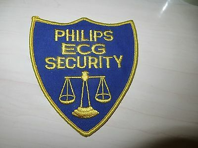 Embroidered Philips Ecg Security Patch