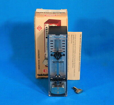 Metronome Super-Mini Taktell by Wittner Made in Germany With Instructions 40-208