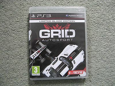 GRID Autosport -- Black Edition (Sony PlayStation 3, 2014)