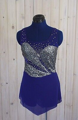 Ice skating, roller skating, baton, dance competition dress size small ladies