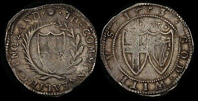 GREAT BRITAIN 1653 Commonwealth 2/6 . S-3215