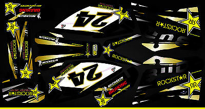 Kit Déco Moto pour / Mx Decal Kit For Sherco - Bud