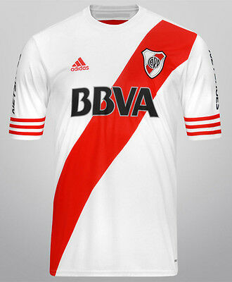 Offer! RIVER PLATE jersey Home 2015/16 CHAMPION Adidas Climacool Brand New
