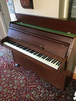 Zender Upright Compact Piano. Possible Delivery.