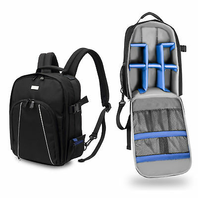 Phot-R City Trekker Compact Camera DSLR Photo Bag Backpack Rucksack Rain Cover