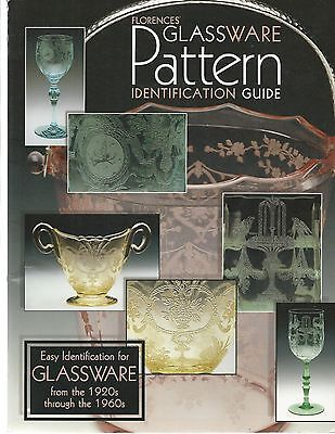 Florence's Glassware Pattern Ident. Guide-Pb-1998